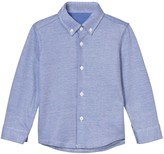 Il Gufo Blue Pique Shirt