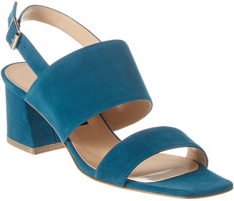 Lafayette 148 New York High City Suede Sandal