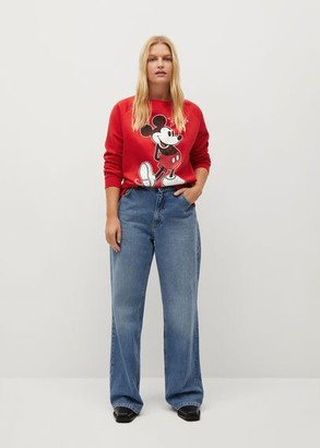 MANGO Mickey Mouse sweatshirt