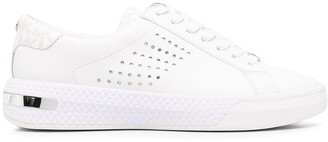 Michael Kors Collection Codie perforated leather sneakers