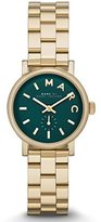 Marc by Marc Jacobs Baker Mini Green Dial Gold Tone Womens Watch MBM3249