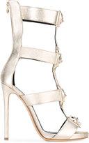 Philipp Plein Gabrielle Low Model sandals - women - Leather/metal - 36