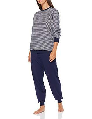 Calida Women's Soft Jersey Fun Pyjama Set,Large