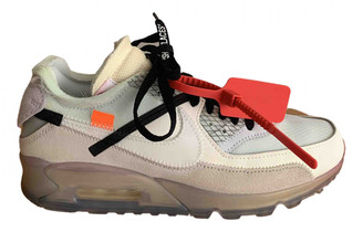 Nike x Off-White Air Max 90 Multicolour Leather Trainers