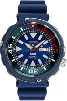Seiko Mens Blue Strap Dive Watch-Srpa83