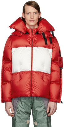 MONCLER GENIUS 5 Moncler Craig Green Red Down Coolidge Jacket
