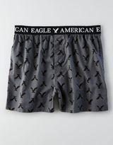 American Eagle AEO Two-Tone Poplin Boxer