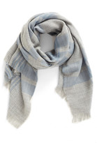 BP Heathered Plaid Scarf