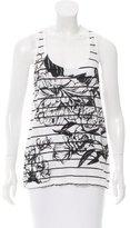 A.L.C. Striped & Floral Print Sleeveless Top w/ Tags
