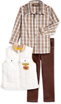 Nannette 3-Pc. Vest, Shirt & Pants Set, Little Boys (2-7)