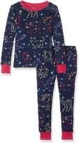 Hatley Big Girls Organic Cotton Long Sleeve Printed Pajama Sets