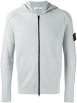 Stone Island zipped hoodie - men - Cotton - S