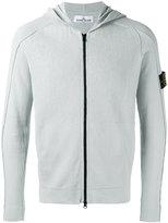 Stone Island zipped hoodie - men - Cotton - XL