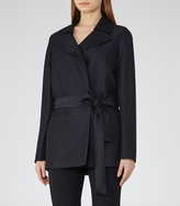 Reiss Lima BELTED JACKET