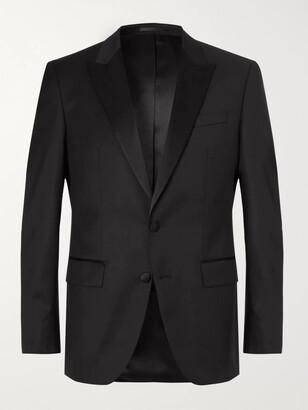 HUGO BOSS Black Halwood Slim-Fit Super 120s Virgin Wool Tuxedo Jacket