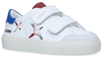 Axel Arigato Leather Clean 90 Bird Sneakers