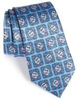 Ermenegildo Zegna Men's Medallion Silk Blend Tie