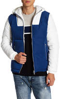Topman Colorblock Puffa Jacket