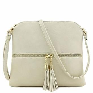 Sonnena Bags Women's Shoulder Bag Sonnena Ladies Small Shoulder Bag Handbag Crossbody Bag Shoulder Pocket Clutch with Tassel (Free