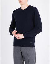 Armani Collezioni V-neck wool jumper