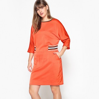 Castaluna Plus Size Dress with Elasticated Detail at Waist