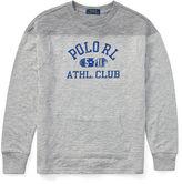 Ralph Lauren 8-20 Slub Cotton Jersey Sweatshirt