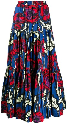 La DoubleJ Big Blooms Big maxi skirt