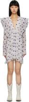 Isabel Marant White Eulali Short Dress