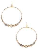 Chan Luu Round Beaded Earrings