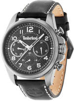 Timberland Men's Smithfield Black Leather Strap Watch 46x57mm TBL14769JSU02