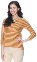 Grayson Shop Womens Stripe Crewneck Sweater L