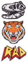 Crazy 8 Tiger Patches 3-Pack