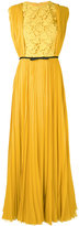 Giambattista Valli pleated dress - women - Silk/Cotton/Polyamide/Polyester - 38