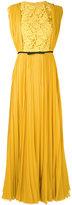 Giambattista Valli pleated dress - women - Silk/Cotton/Polyamide/Polyester - 38