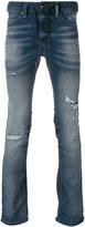Diesel distressed slim fit jeans - men - Cotton/Spandex/Elastane/Lyocell - 30