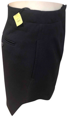 Carven Navy Viscose Skirts
