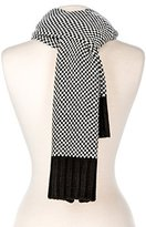 Noble Mount Mens Two-Tone Manhattan Winter Scarf