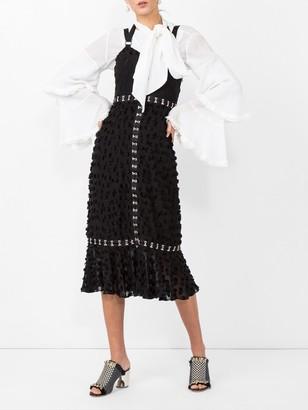 Proenza Schouler Jacquard Sleeveless Dress