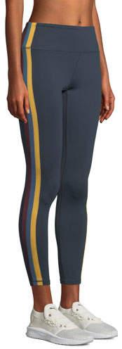 Side-Stripe High-Waist Activewear Tights