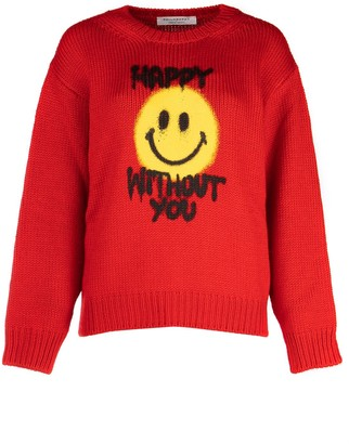 Philosophy di Lorenzo Serafini Slogan Printed Sweater