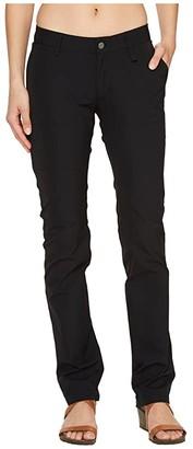 Fjallraven Abisko Stretch Trousers (Black) Women's Casual Pants
