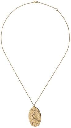 Brooke Gregson 14kt yellow gold Scorpio diamond pendant necklace