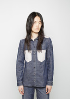 MM6 MAISON MARGIELA Contrast Patch Pocket Shirt