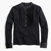 J.Crew Tuxedo-inspired long-sleeve T-shirt