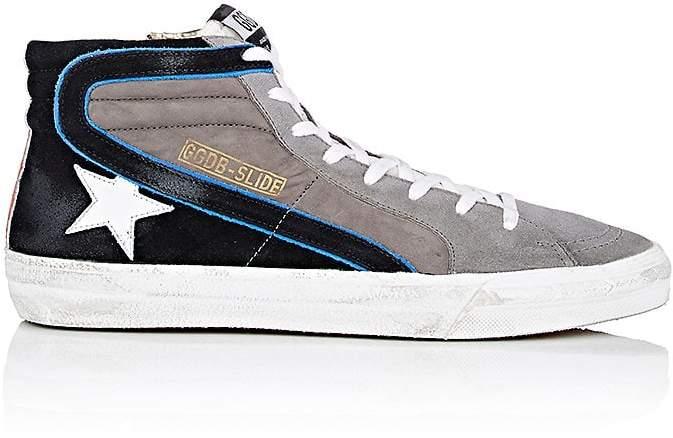 Golden Goose Men's Slide Suede & Nubuck Sneakers