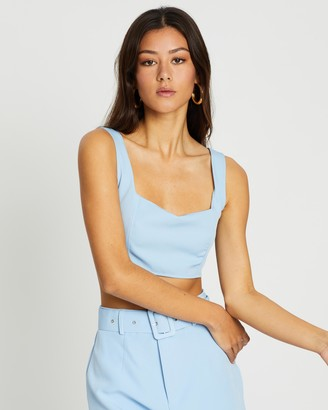 Missguided Co-Ord Super Scoop Crop Top