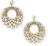 Jennifer Behr Prianna Hoop-Drop Earrings