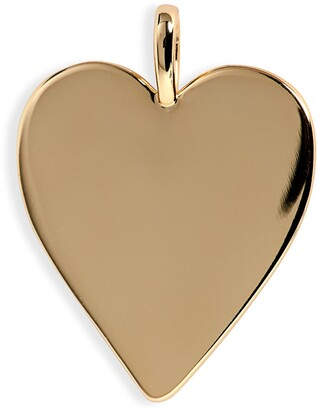 Melinda Maria Icons Golden Heart Charm