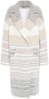 IRO Loux Oversized Striped Boucle Coat