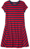 Ralph Lauren Striped Jersey Tee Dress